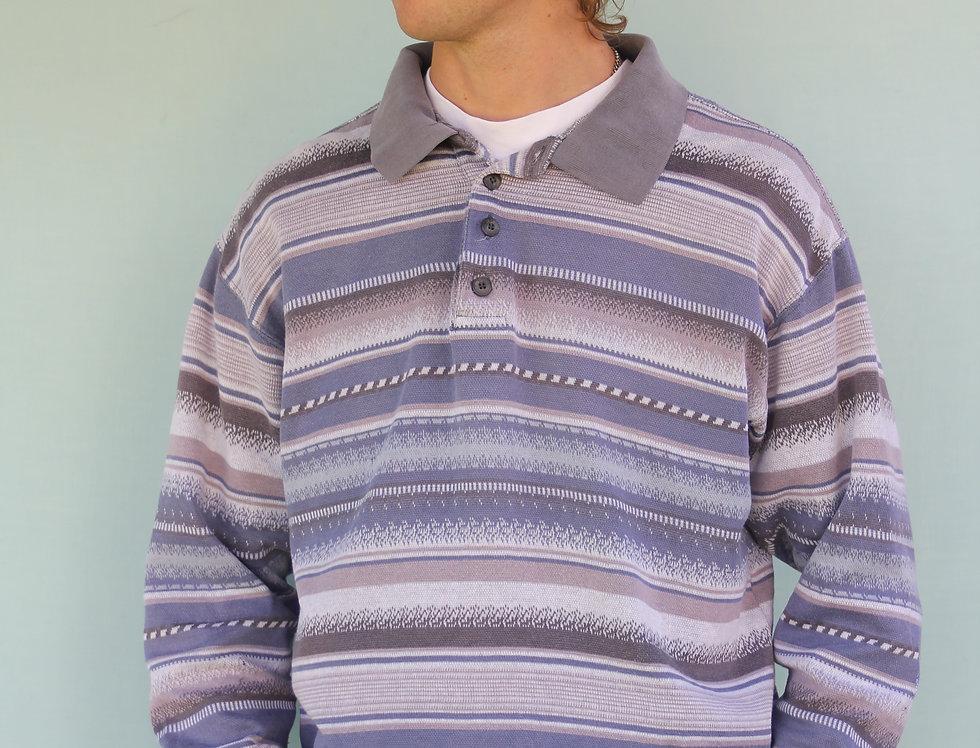 90's Long Sleeve Polo