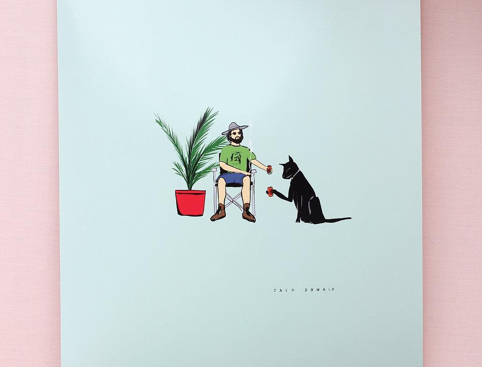 'Cheers Dawg' Print