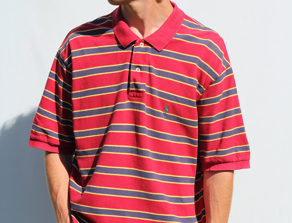 Ralph Lauren Stripe Polo