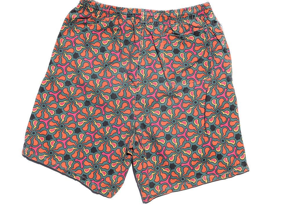 70's Flower Shorts