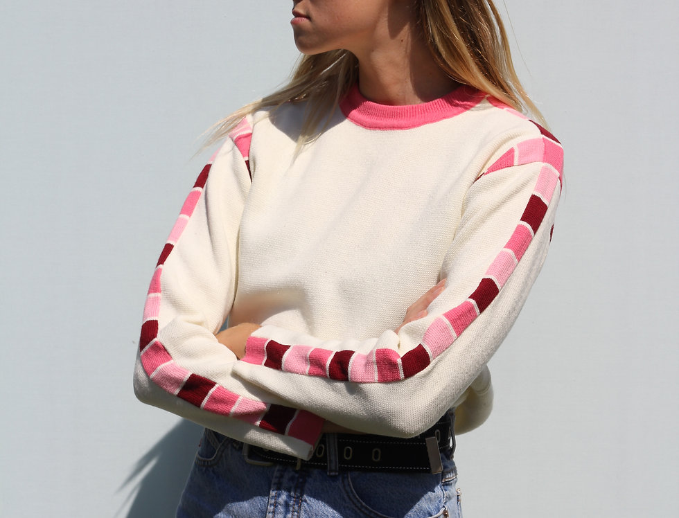 90s Pink Sweater