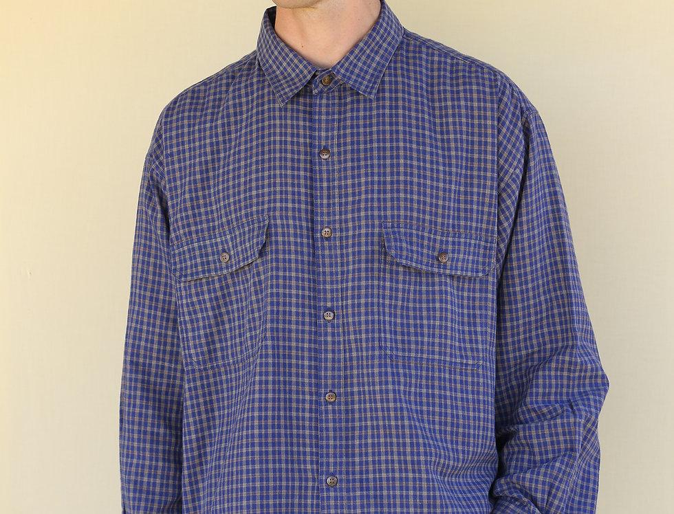 Blue Check Outsider Shirt