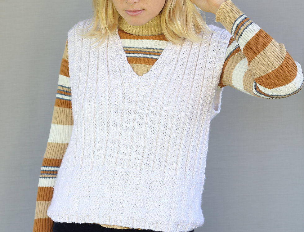 60's Knitted Vest