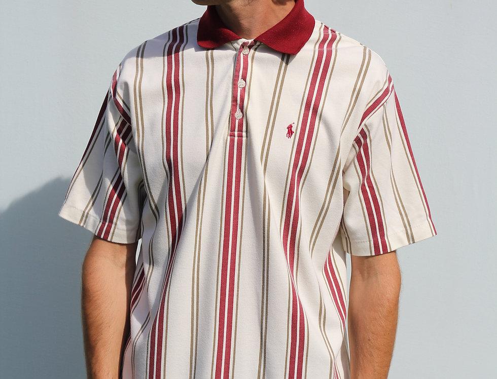 Ralph Lauren Retro Maroon Stripes