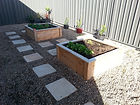 Greenmanwood vegetable frames garden planters storage boxes