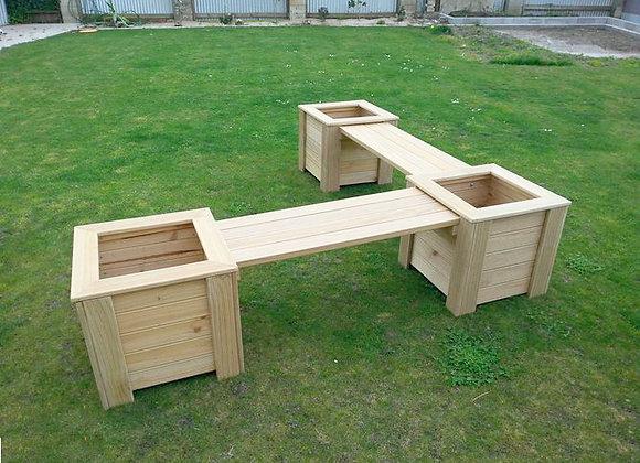 Newmarket Planter Bench