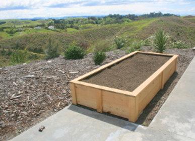 Taupo Raised Garden - Macrocarpa