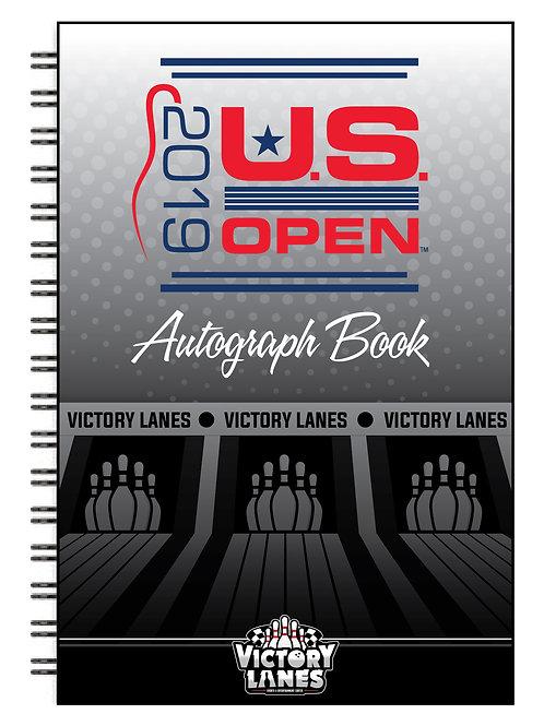U.S. Open Autograph Book