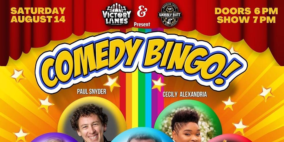 Beerly Funny Comedy Bingo Night