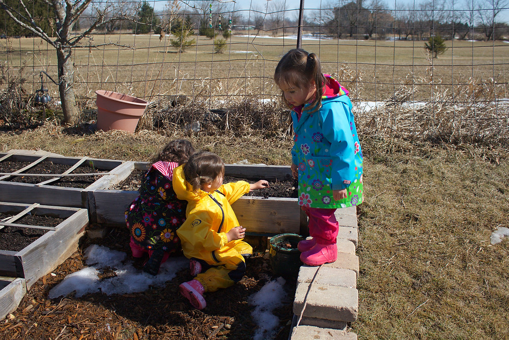 Blue Sky Daycare home daycare children enjoying time outdoors