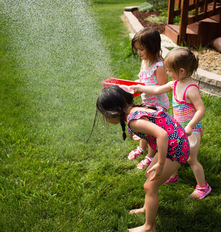 Fill, splash, dump, repeat!