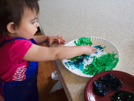 Fingerpainting, Music, and Life Cycles