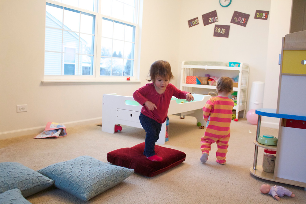 Active play at Blue Sky Daycare home daycare