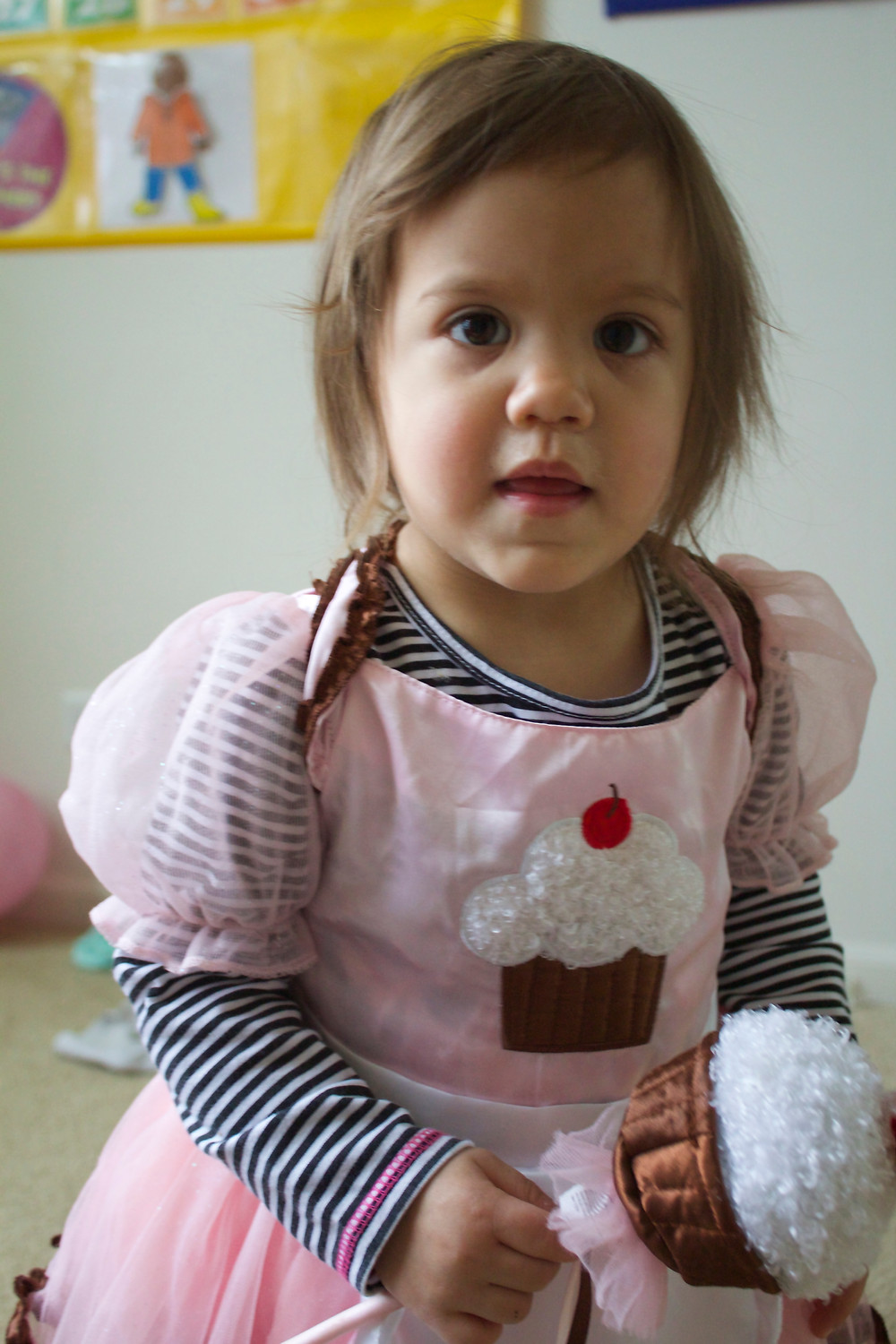 Playing dress-up at Blue Sky Daycare home daycare