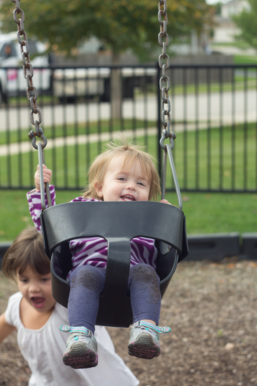 Park visits are fun!