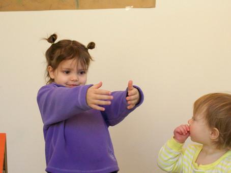 A circle time rhyme, pretend play, and sensory fun...