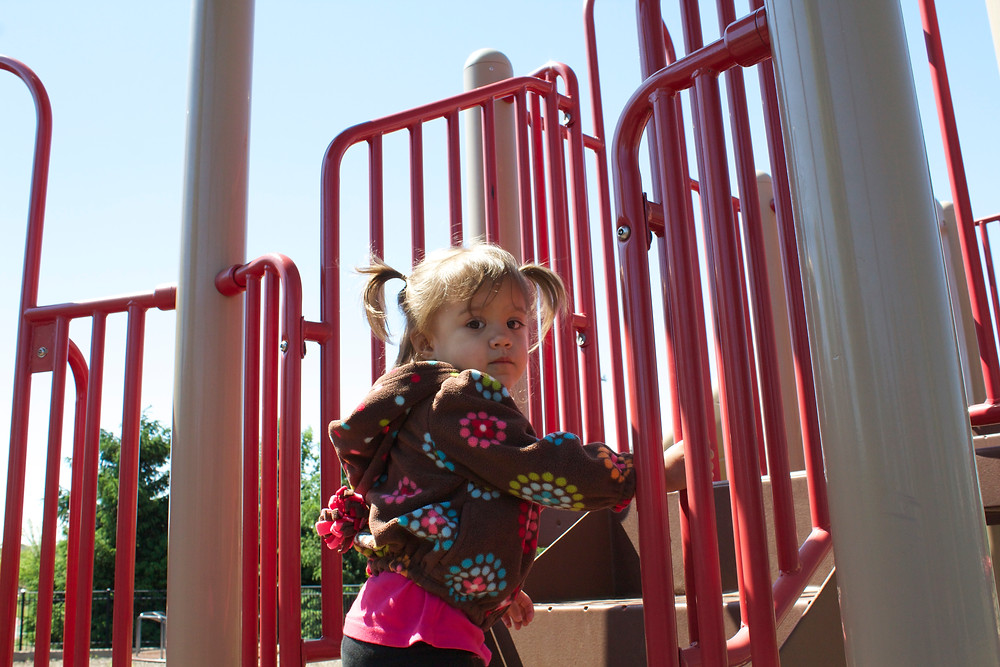 Fun at the park with the Blue Sky Daycare home daycare kids