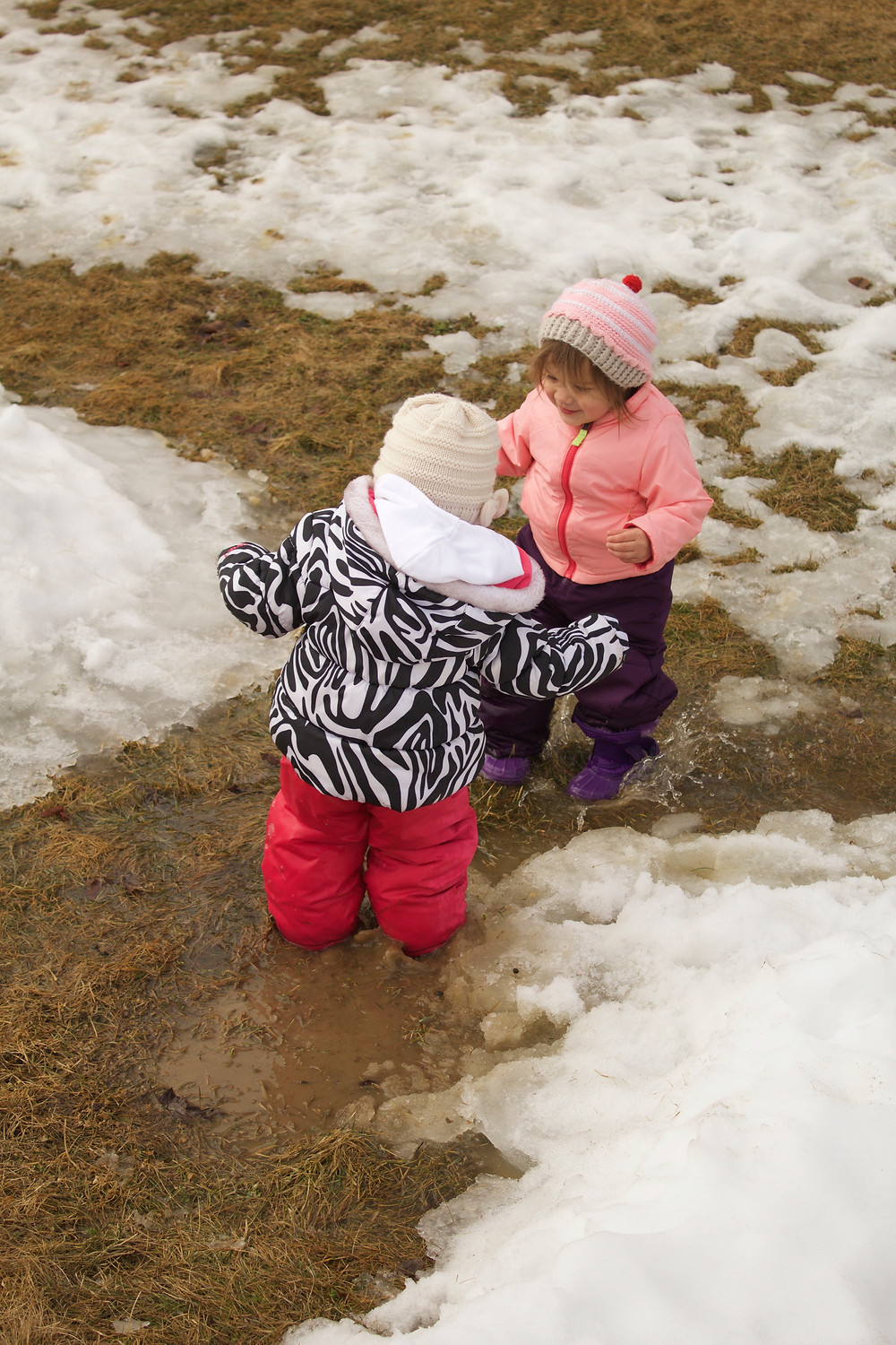 Blue Sky Daycare home daycare children enjoying the great outdoors