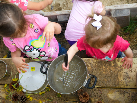 Mud Kitchen Escapades, Wooly Bears, and Boating...