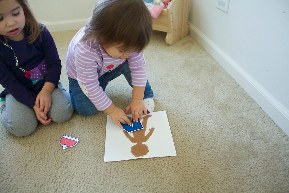 Weather routine at Blue Sky Daycare home daycare