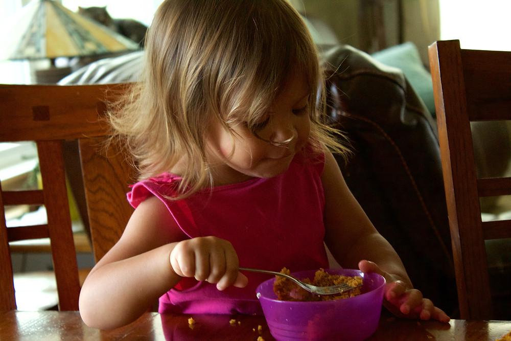 A birthday celebration for a Blue Sky Daycare home daycare child