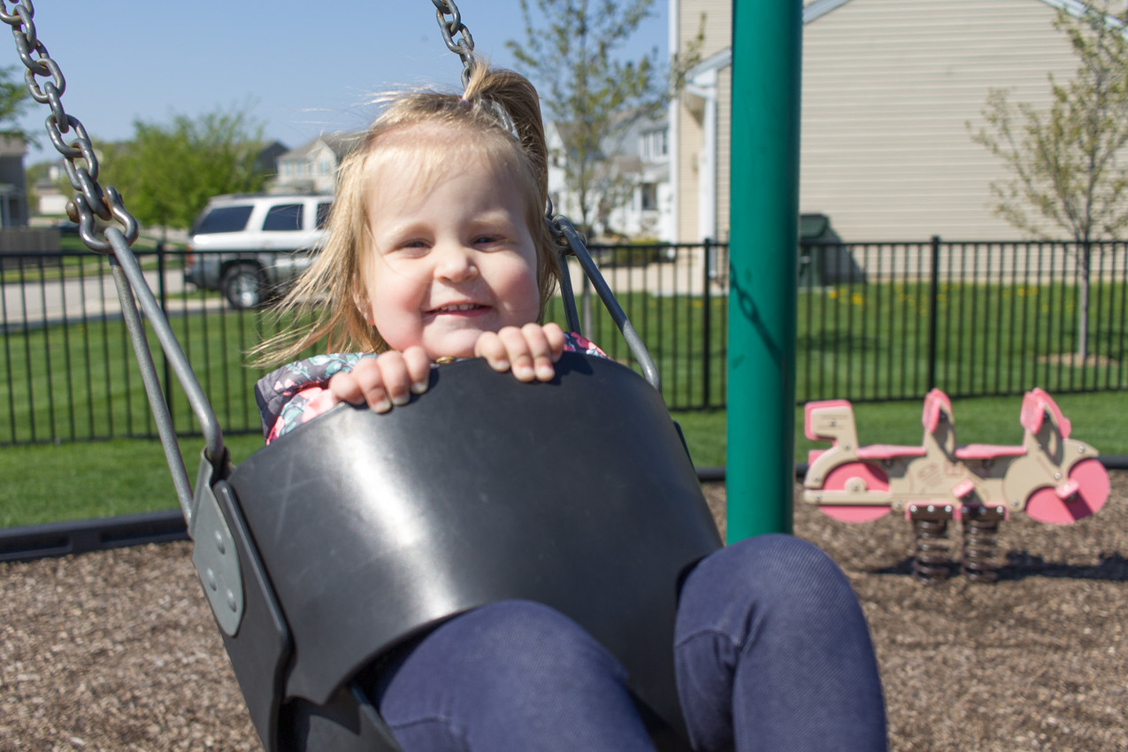Big Smiles at the Park!
