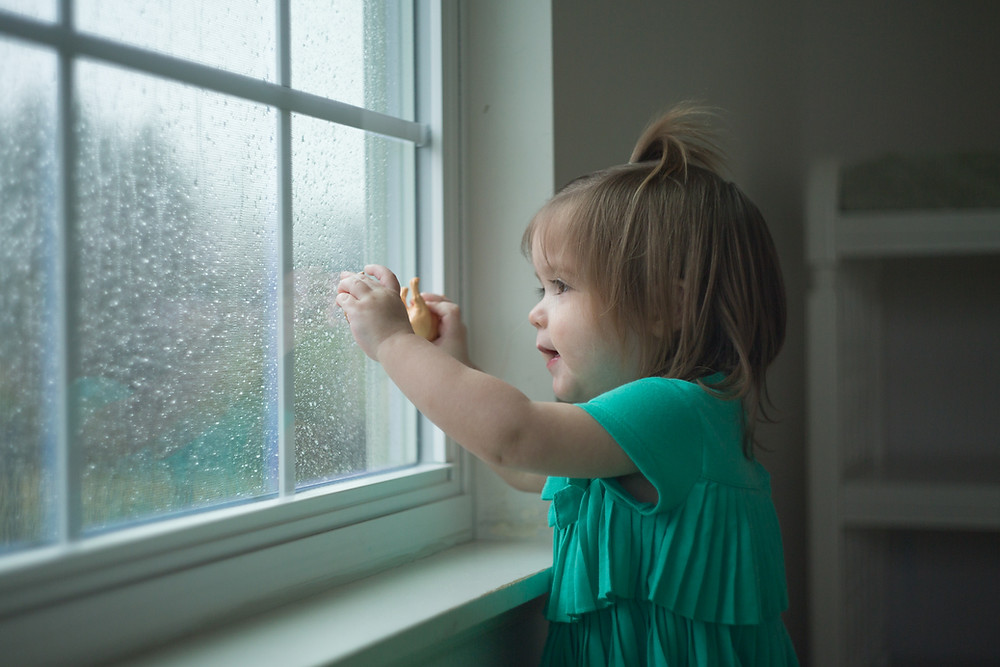 A rainy day at Blue Sky Daycare