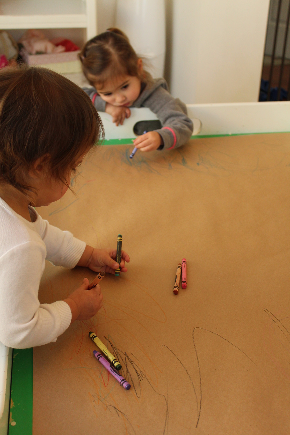 Process art at Blue Sky Daycare home daycare in Volo