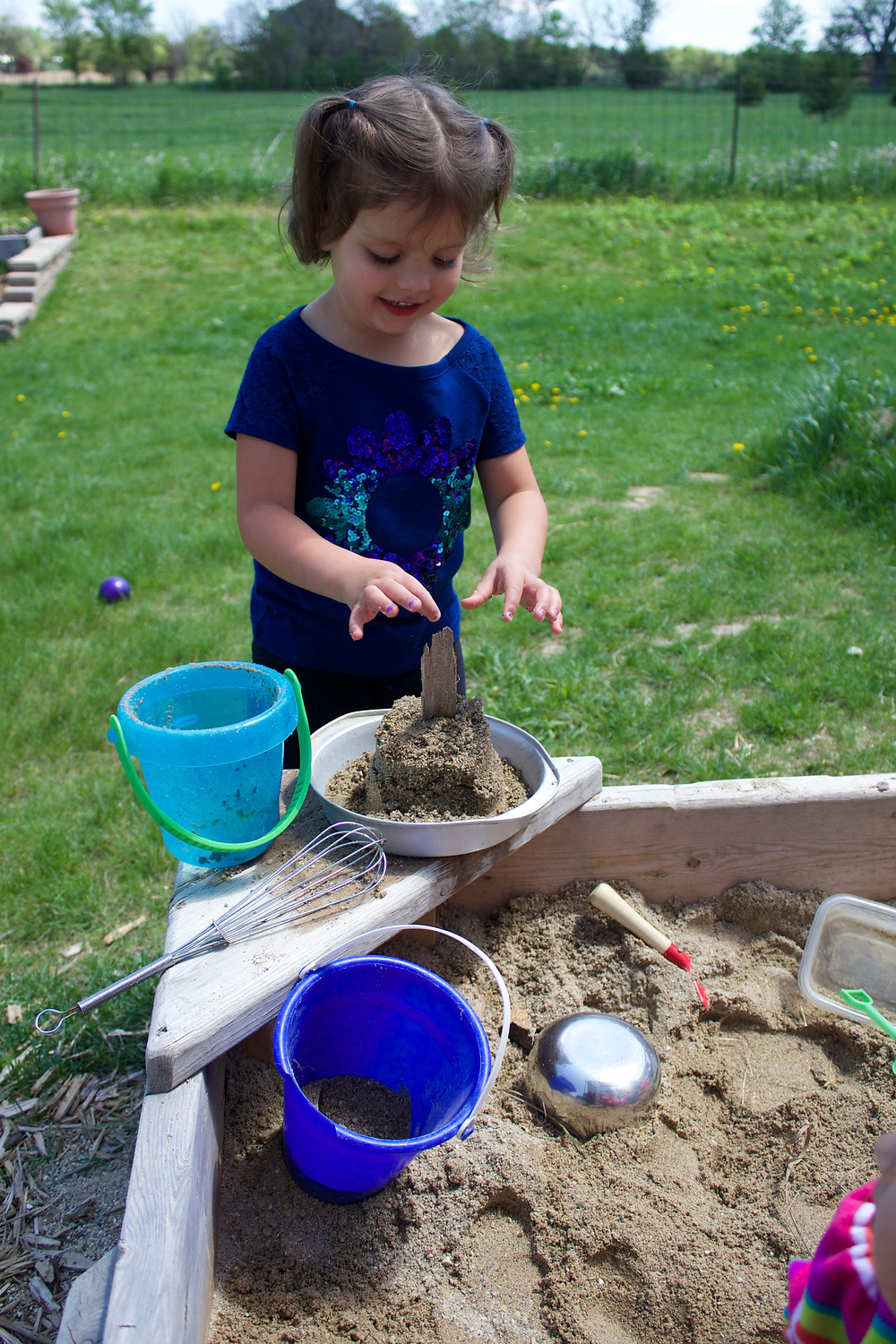Outdoor play at Blue Sky Daycare home daycare