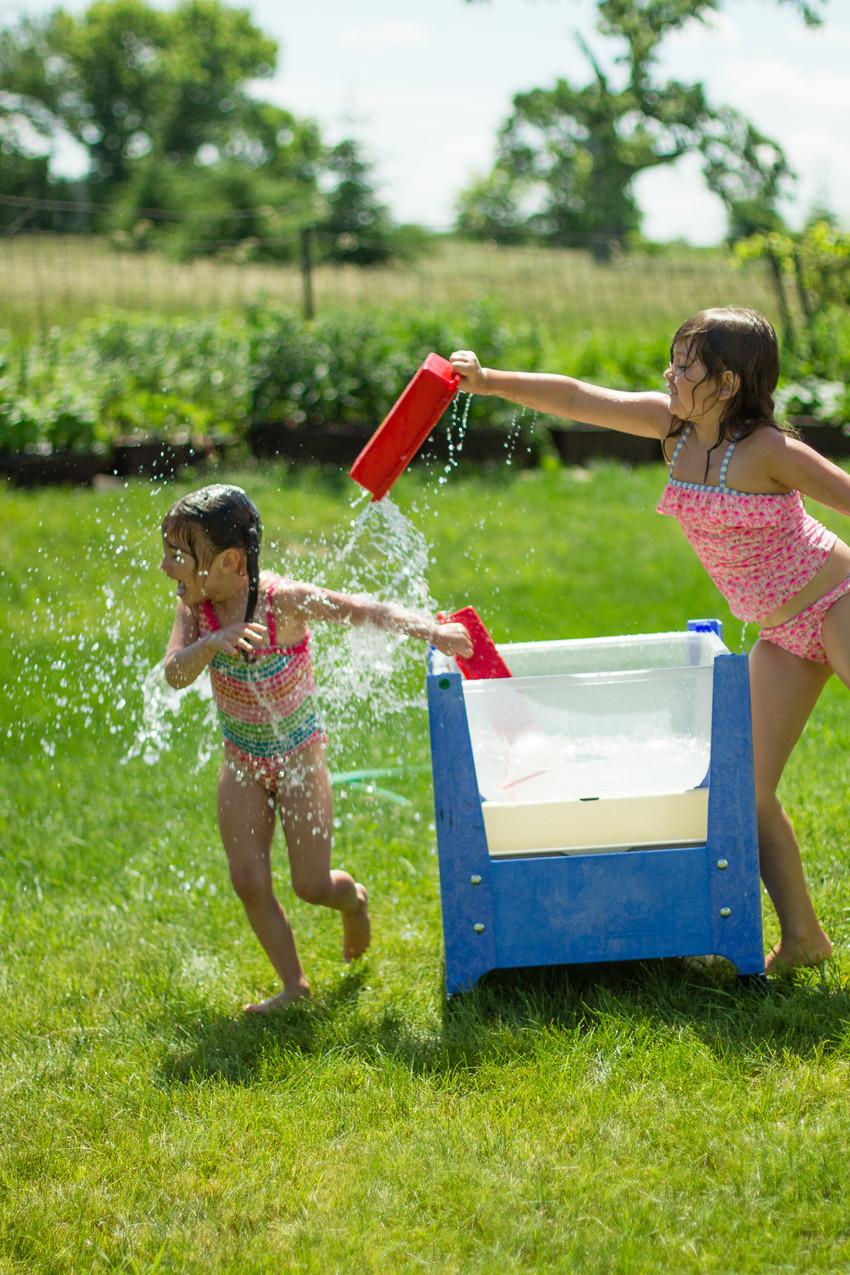 Making a splash...