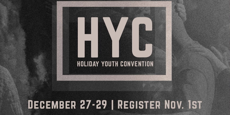 Holiday Youth Convention
