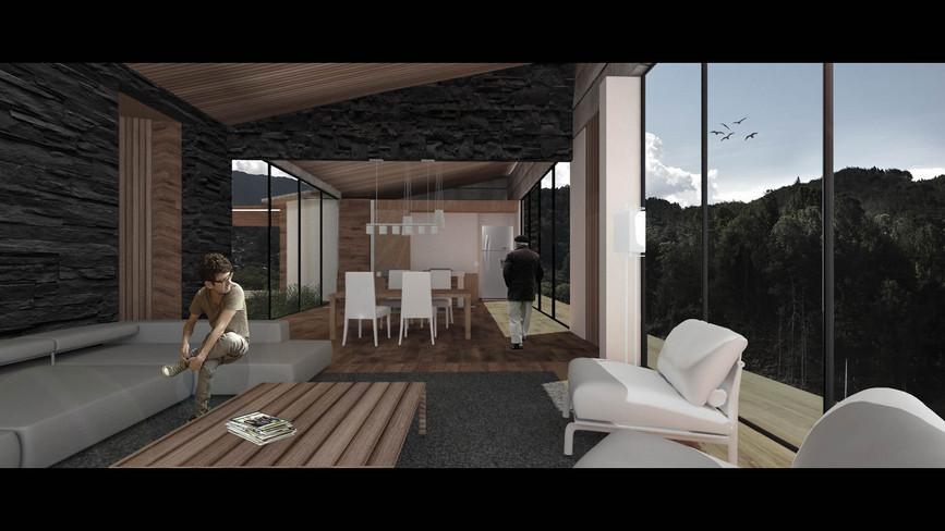 Casa Taborda Ocampo_Render interior 2_Fi