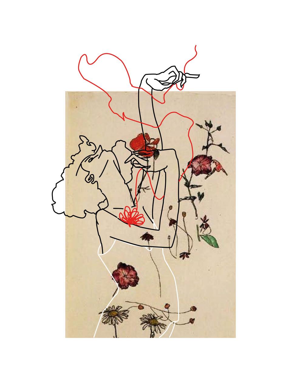 Pat McGrath x Egon Schiele Moodboards