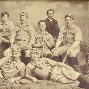 Jewish baseball player photo, 1892