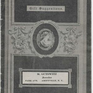 Jewelry catalog, c. 1920s