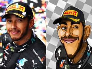 Lewis Hamilton Fan Art