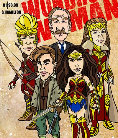Wonder Woman Movie Spoof