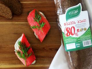 როგორია ჭვავის 80%-იანი  პური?