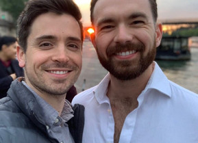 Pride Series: MATT DOYLE and MAX CLAYTON On How They Met, Keeping Their Love Strong and What Pride M
