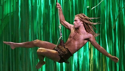 Josh Strickland as Tarzan