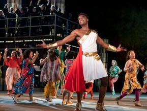 The Public Theater's Production of HERCULES Shines at The Delacorte In Central Park