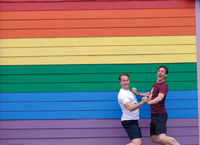 PRIDE SERIES: BRET SHUFORD and STEPHEN HANA On Marriage, Advice, Creation of Broadway Husbands, What