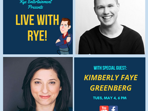 THE RYE WRAP UP: Kimberly Faye Greenberg on Her Hit Show Fabulous Fanny Brice and More
