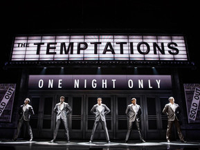 AIN'T TOO PROUD- THE LIFE AND TIMES OF THE TEMPTATIONS To Open on Broadway at The Imperial Theat