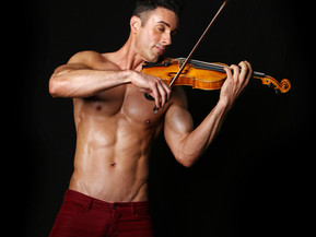 "INTERVIEW: ""The Shirtless Violinist"" Talks How He Got Started, Making A Difference Through"