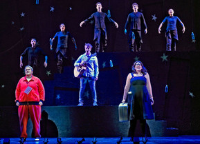 FIRST LOOK: Broadway's Nick Adams, Lauren Elder, and Tony Galde Give  A Glimpse Into the New Mus