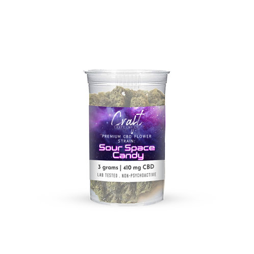 Sour Space Candy 3g CBD Flower