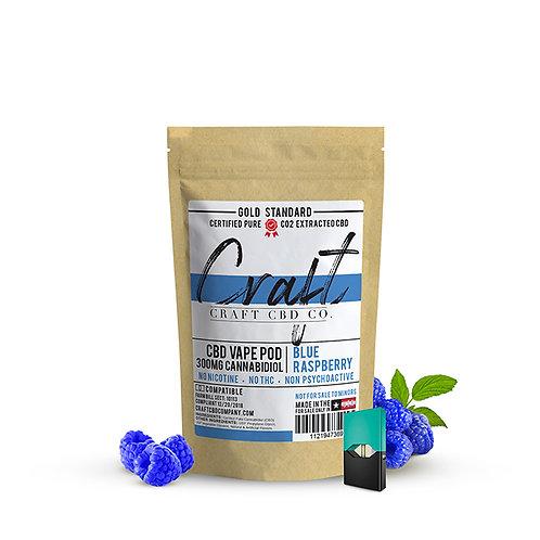 CBD Vape Pods - Blue Raspberry Cannabidiol