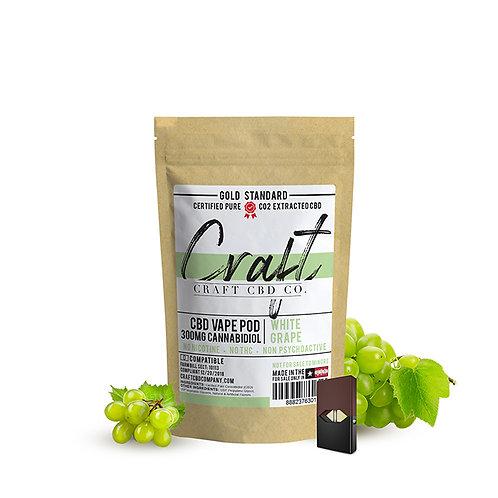 CBD Vape Pods - White Grape Cannabidiol