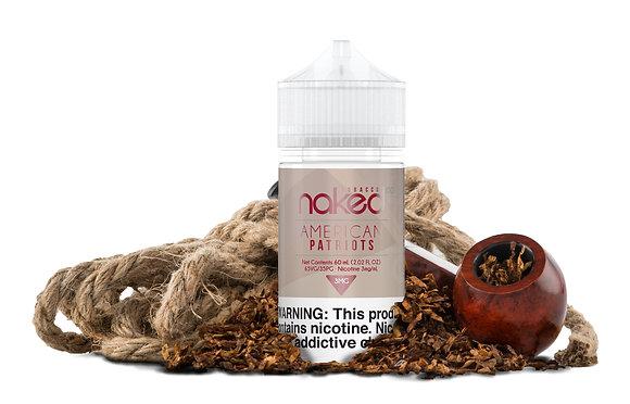 Naked 100 Tobacco - American Patriots
